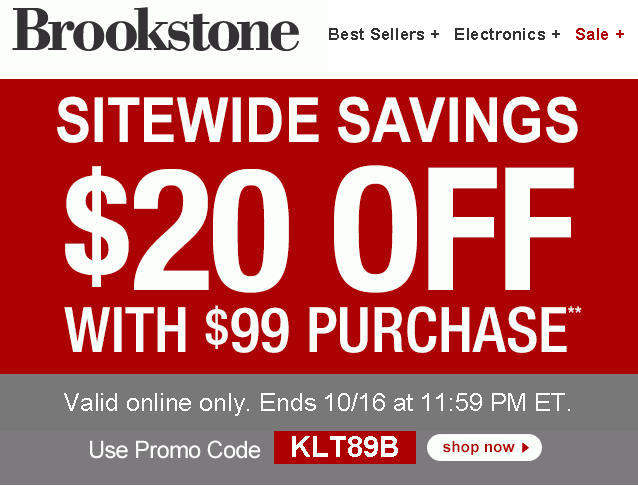 Brookstone Expired Coupons